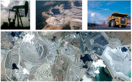 Citra Satelit untuk Oil & Gas, Mining dan Energy
